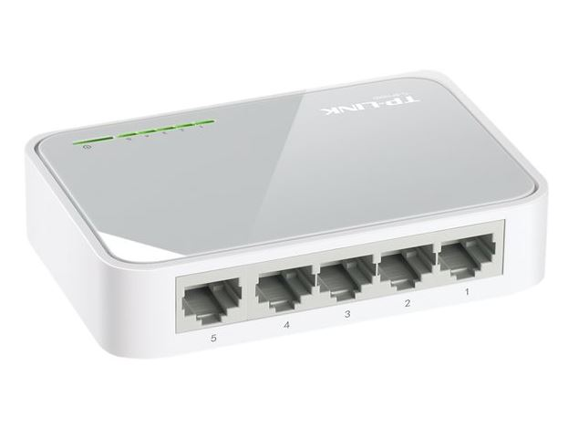 TP-LINK 5-Port 10/100 Switch Desktop