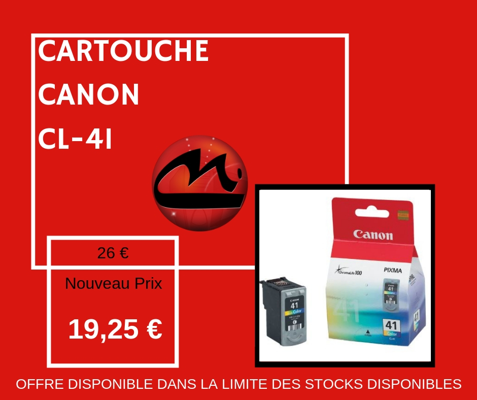 CARTOUCHE CANON CL-41