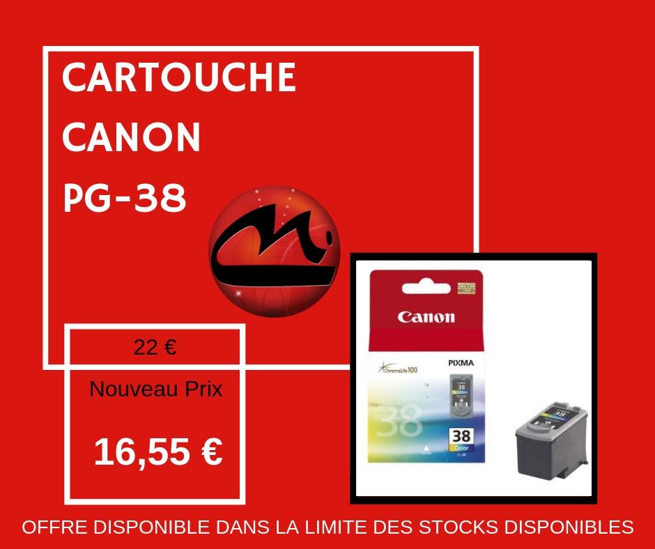 CARTOUCHE CANON PG-38