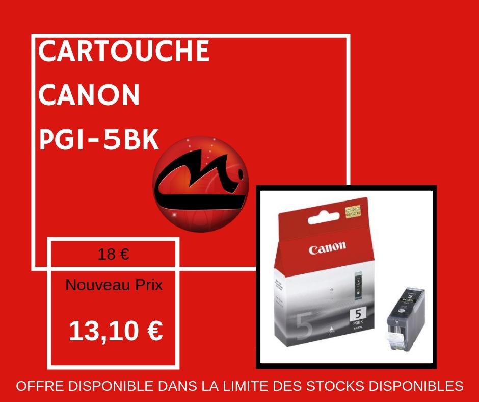 CARTOUCHE CANON PGI-5BK