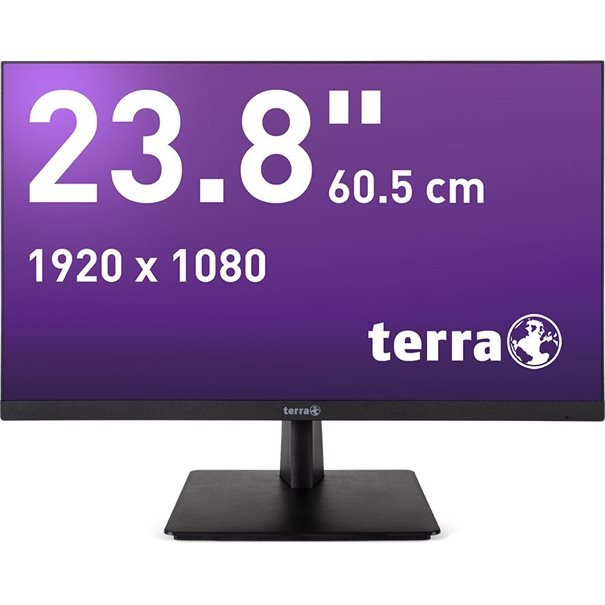 TERRA LED 2463W black