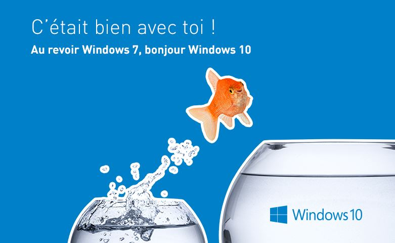 Fin du Windows 7